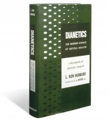 Erste Ausgabe von Dianetik: Der Leitfaden für den menschlichen Verstand, veröffentlicht am 9. Mai 1950.