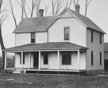 Familienhaus, Tilden, Nebraska; circa 1910.