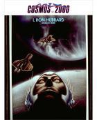 Cosmos-2000-Auszeichnung – französisch sprechende Leser Eine Auszeichnung, die L.Ron Hubbard für sein zehnbändiges Werk Mission Erde überreicht wurde, gewählt von Lesern aus Frankreich, Belgien und der Schweiz.