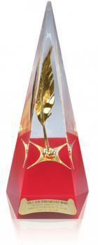 Der L.Ron Hubbard Gold Award des Wettbewerbs Schriftsteller der Zukunft